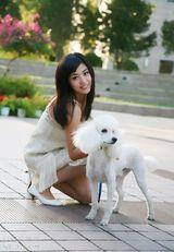 张馨心写真图片