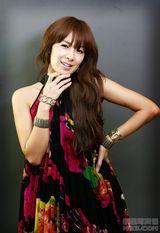 蔡妍写真图片